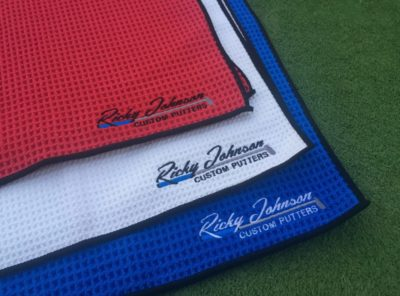 Club Glove Caddy Towel