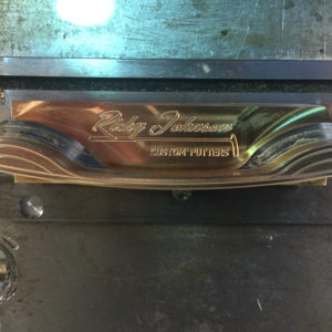 Ricky Johnson Italian Bronze Putter